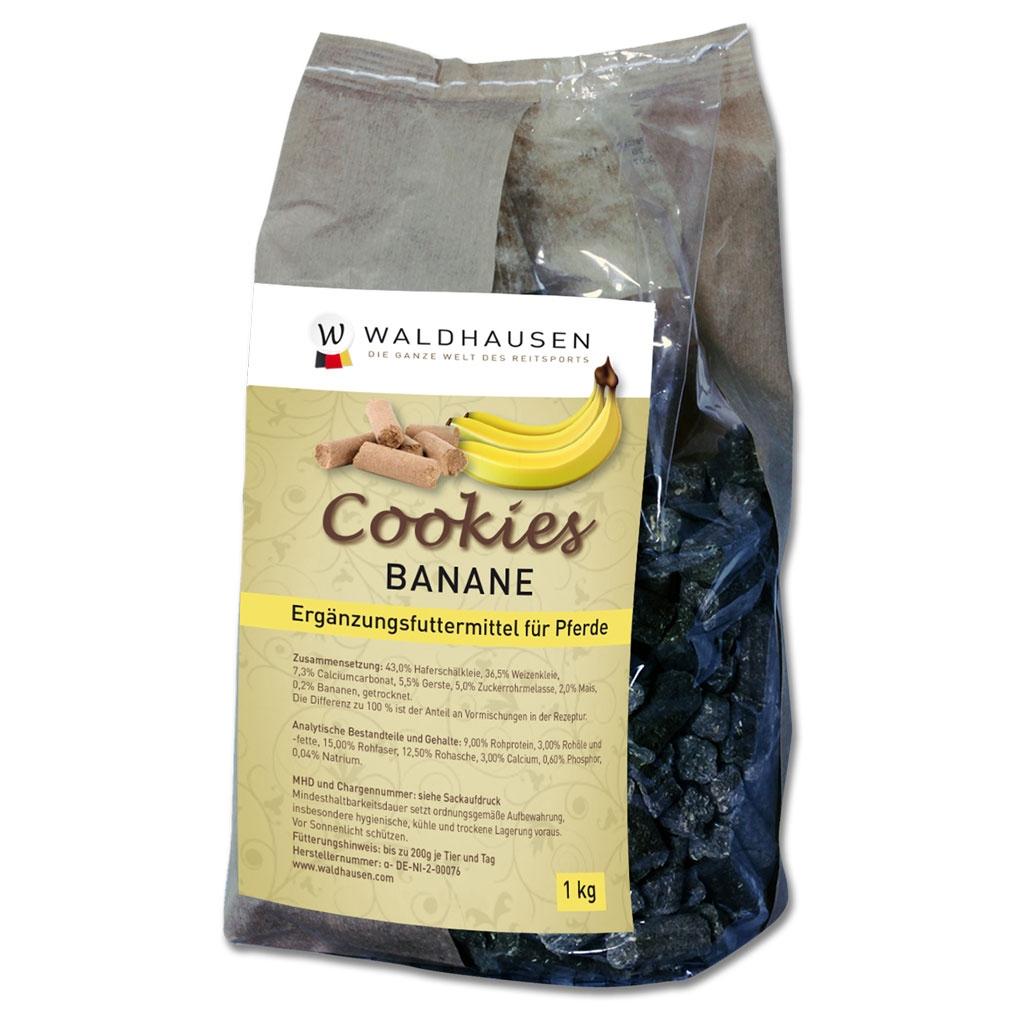 Waldhausen Cookies Banane, 1 kg