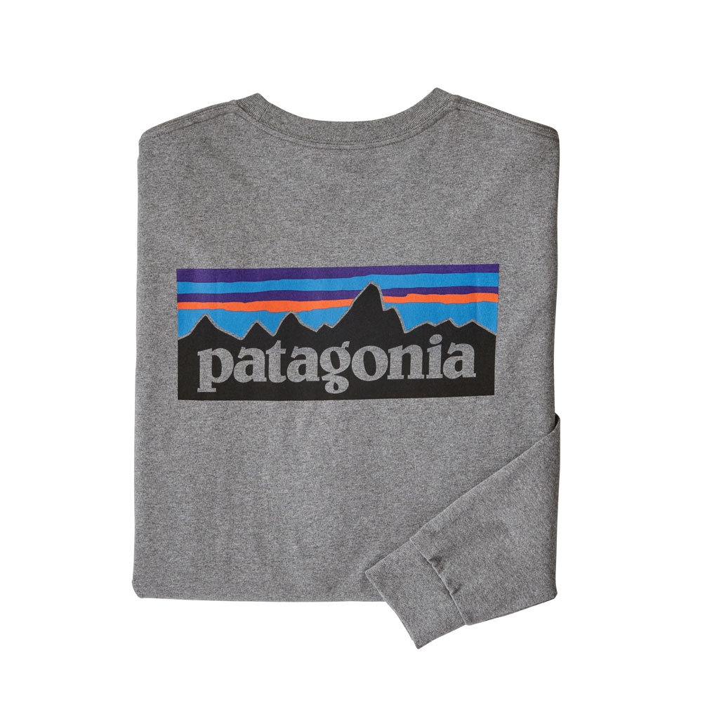 Patagonia L/S P6 Logo Responsibili Tee