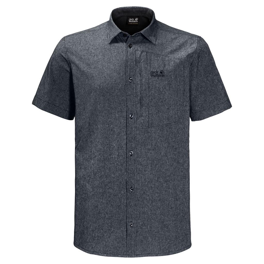 Jack Wolfskin Barrel Shirt Men Hemd