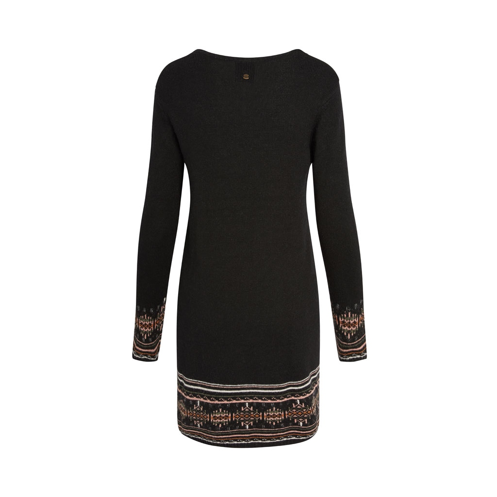 Sherpa Maya Jacquard Dress Kleid