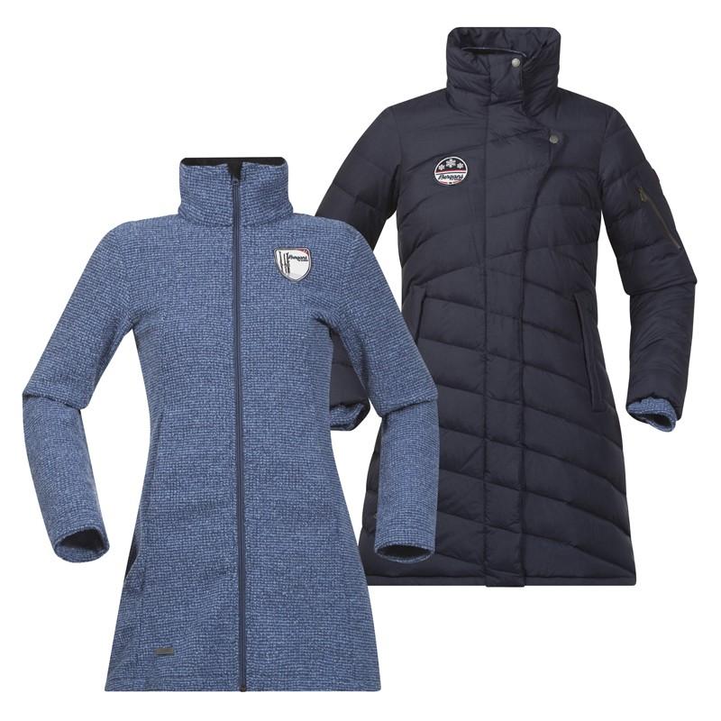 Bergans Tromso 3in1 Down Lady Coat