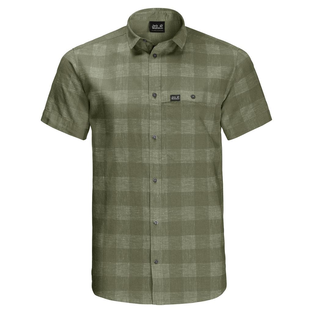 Jack Wolfskin Highlands Shirt Men Hemd