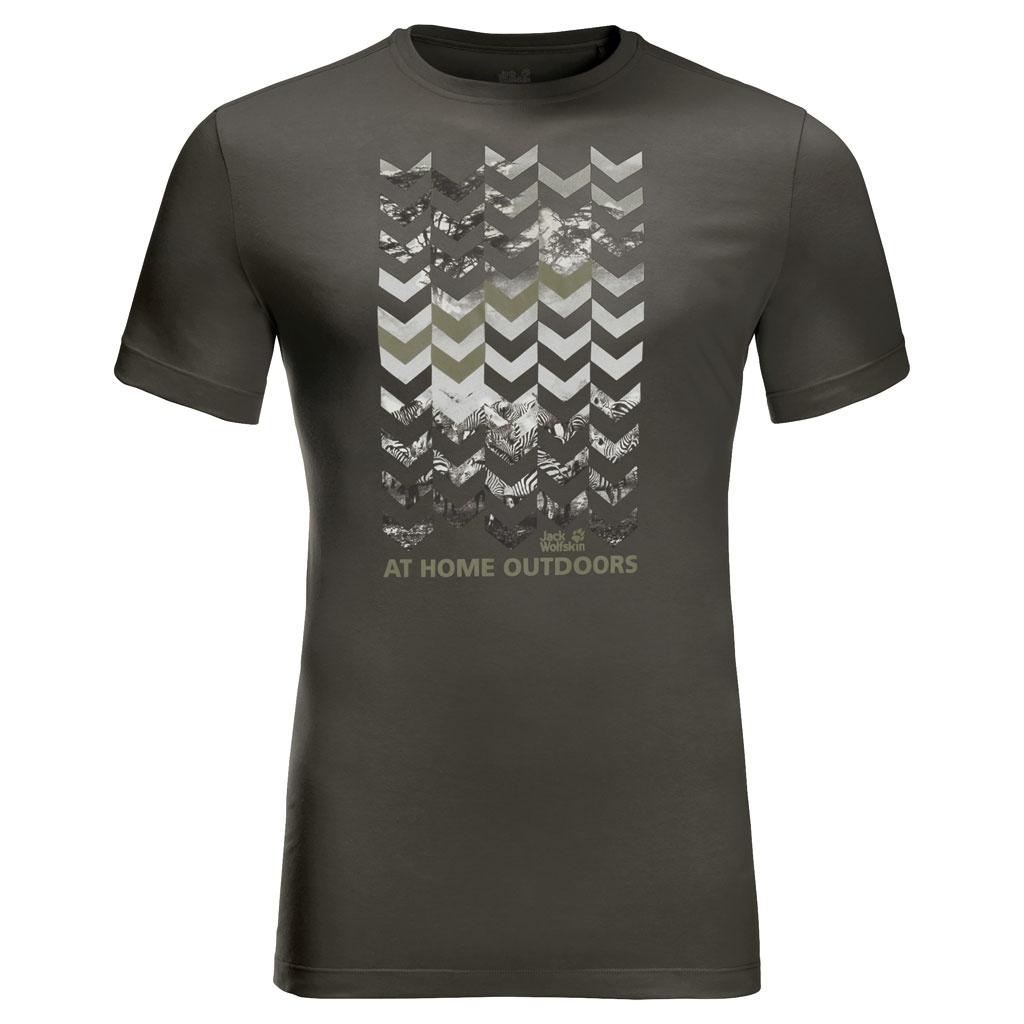 Jack Wolfskin Chevron T T-Shirt Men
