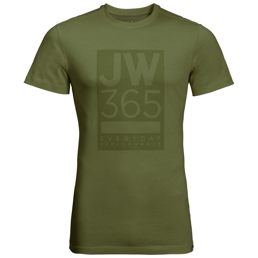 Jack Wolfskin 365 T Men T-Shirt Outdoor
