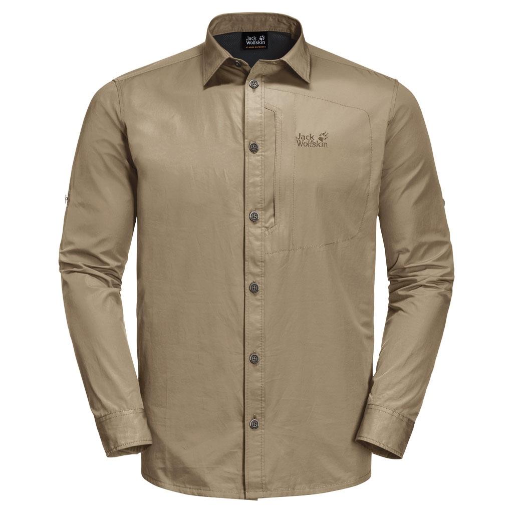 Jack Wolfskin Lakeside Roll Up Shirt Men