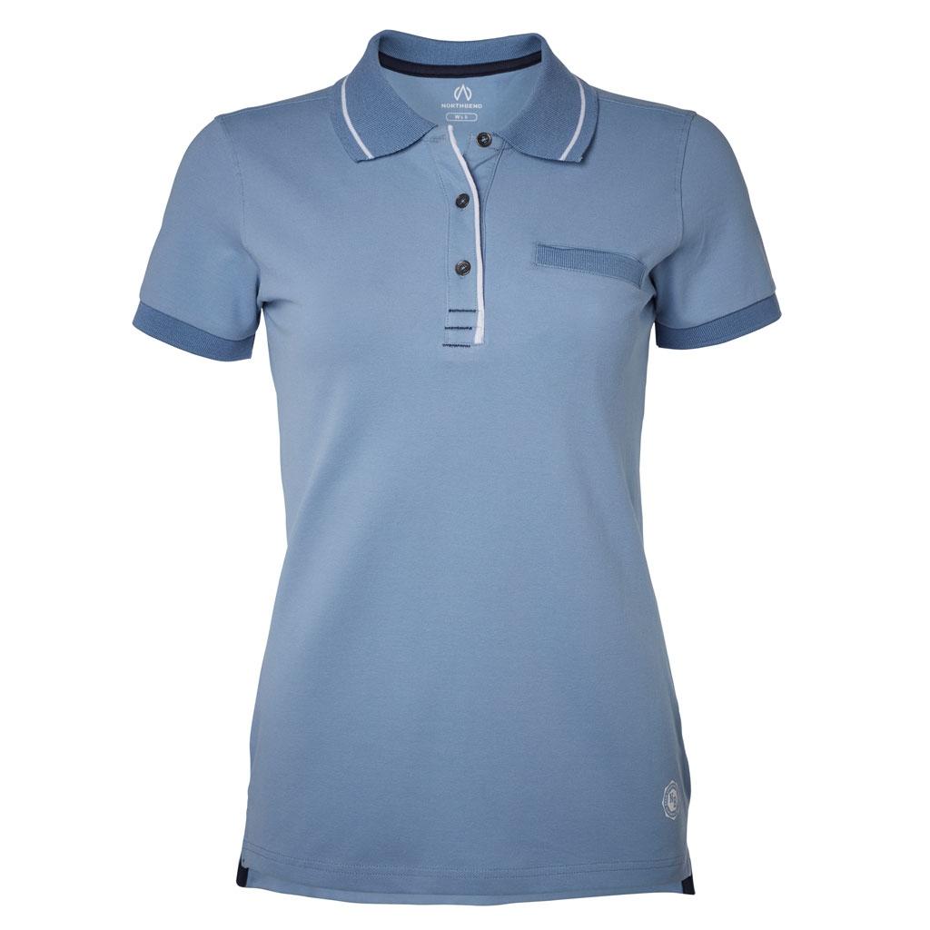 North Bend Carly Pique Polo Shirt Women